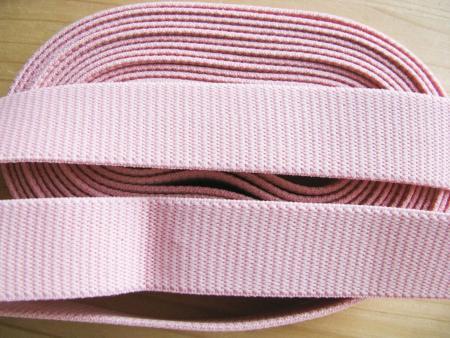 4m Bundgummi in malve/rosa Fb1056 - 2,5cm