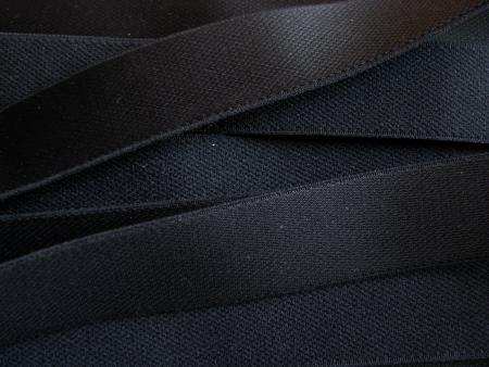 5m Träger-Gummi in schwarz Fb4000 - 24mm