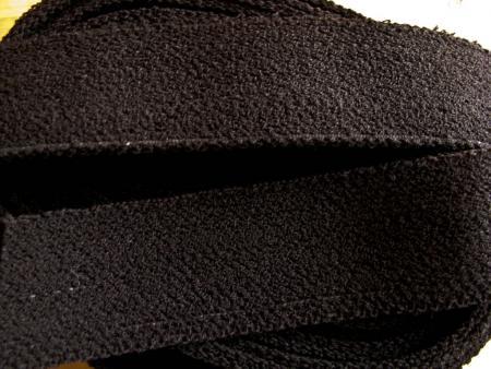 4m Bundgummi in schwarz  - 3,5cm breit Fb4000