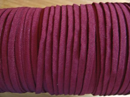10m zartes Gummibändchen in d.wein-rot Fb0918