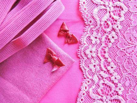 "1 Pkt. Materialpaket ""Pink Lady"" - Slipset"