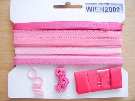 Kurzwarenpaket in pink/lip-stick Fb1417