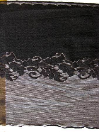 """1m bi-elast. Miederspitze """"Shapewear"""" in schwarz Fb4000"""