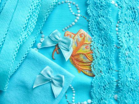 """1 Pkt. Materialpaket """"Butterfly"""" - Slipset"""