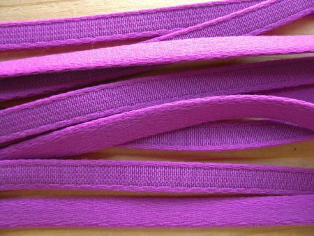 1m Bügelband in magenta/kräftigem purple Fb1061