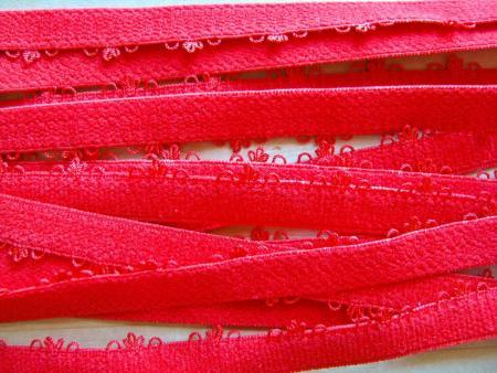 6m Unterbrustgummi in hot-rot Fb0503