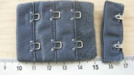 BH-Verschluss - stahl-blau