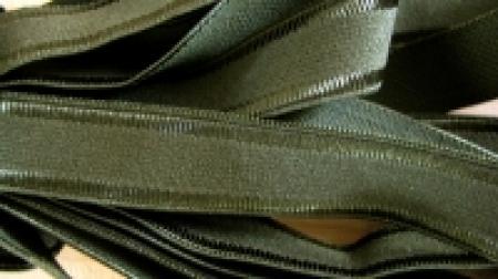 5m Träger-Gummi in dunklem oliv-grün