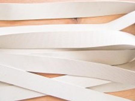 6m Badegummi in natur-weiß - 12,5mm