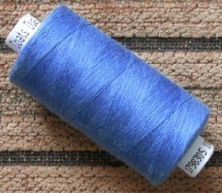 1 Spule Nähgarn in gobelin-blau  Fb1315