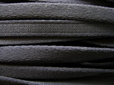 1m Bügelband in dunklem marengo-grau