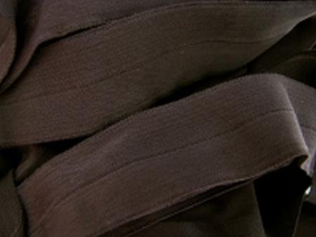 6m Falzgummi in negro-braun Fb1002