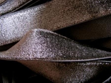 6m Samtband elastisch in anthrazit Fb0348