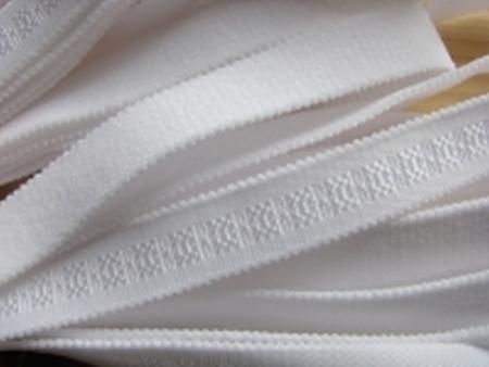 5m Träger-Gummi in rein-weiß Fb2000