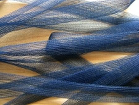 10m Charmeuse-Bändchen in neptun-blau Fb0816
