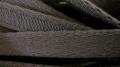 1m Bügelband in rauch-grau Fb1360