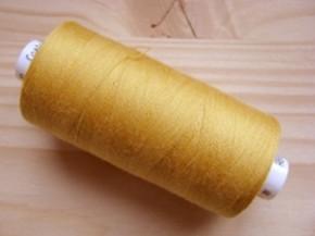 1 Spule Nähgarn in ocker-gold/self Fb1130