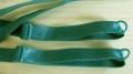 1 Paar fertige Träger in grün