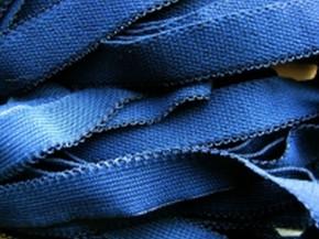 6m Unterbrustgummi in d.marineblau Fb0825