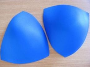 1 Paar BH-Körbchen/Schalen in gobelin-blau 42er