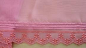 Edel-Spitze bestickt in bonbon-rosa Fb0067...
