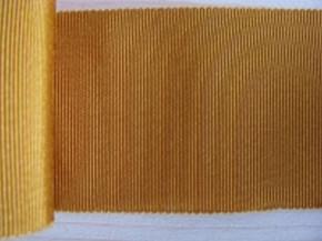 5m Ripsband in ockergold Fb1130