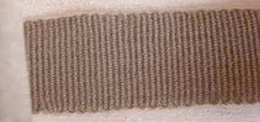 5m Ripsband in sandelholz Fb0475