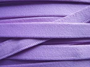 1m Bügelband in milka-lila/hell-violett Fb0030