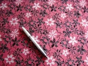 Bi-elastische Microfaser -Pink Pepper-