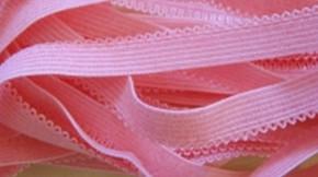 6m Wäschegummi in bonbon-rosa Fb0067