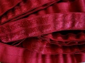 6m Falzgummi in vino-rot  FB0106