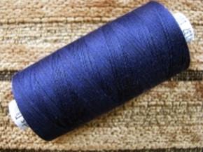 1 Spule Nähgarn in d.marine-blau Fb0825