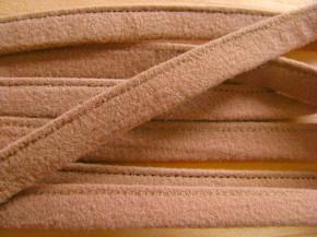 1m Bügelband in beige-braun Fb0280