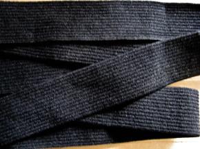 4m Bundgummi in schwarz Fb4000 - 2,80cm