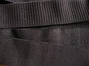 4m Bundgummi in schwarz Fb4000 - 4cm
