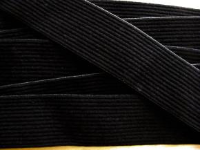4m Bundgummi in schwarz Fb4000 - 3,50cm