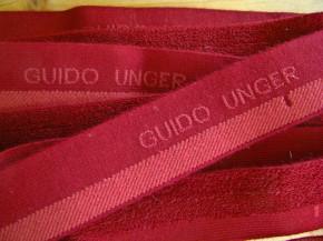 """4m Bundgummi """"Guido Unger"""" in d.kirsch-rot Fb0105"""