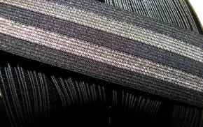 4m Bundgummi in schwarz Fb4000...