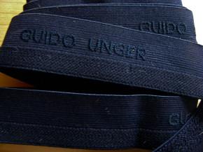 """4m Bundgummi """"Guido Unger"""" in dunkel-blau Fb0810"""
