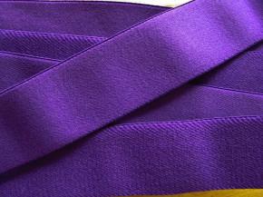 4m Bundgummi in violett Fb0046