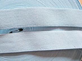 4m Bundgummi in baby-blau - 23mm breit Fb0660