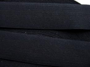 4m Bundgummi in schwarz Fb4000 - 3,2cm