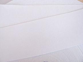 4m Bundgummi  in rein-weiß Fb2000 - 5,5cm