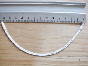 1 Paar BH-Bügel in Metall - PushUp - 90B
