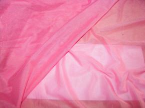 Bi-elastischer Wäschetüll in glänzendem, bon-bon-rosa Fb0067
