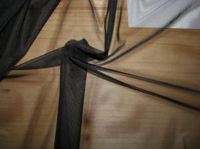 1m zarte Futter-Charmeuse in schwarz Fb4000