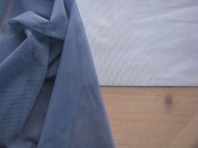 1m bi-elastischer Wäschetüll in indigo-blau Fb0800