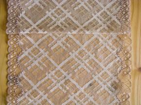 1m XL-elastische Spitze in savannen-beige/hell-beige Fb1222