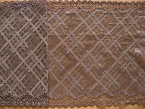 1m XL-elastische Spitze in h. taupe Fb1228, Richtung steppe