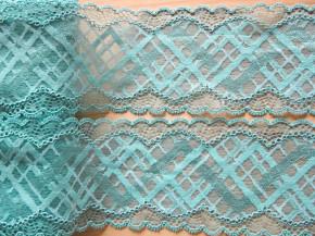 1m elastische Spitze in pool-türkis/h.türkis Fb0409